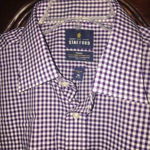 NWT Stafford men's dress shirt